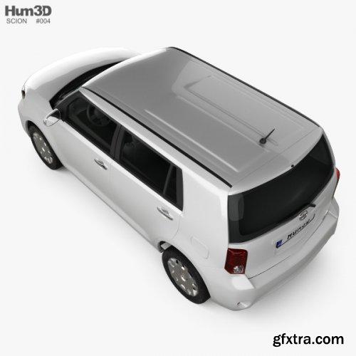 Scion xB 2012 3D model