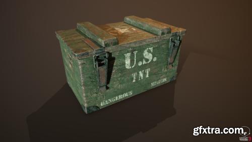 Crates and Barrels Military Props