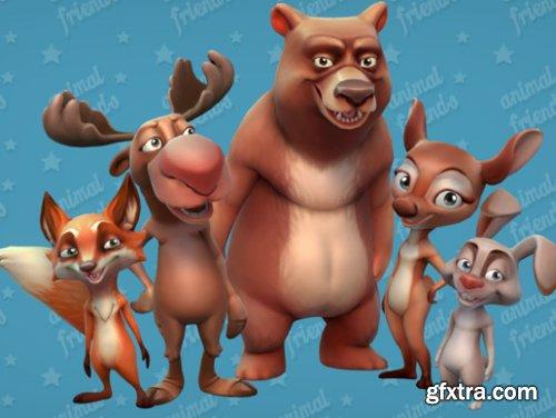 Animal Friends: Forest Animals