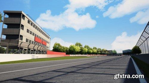 Highly Detailed Racing Circuit