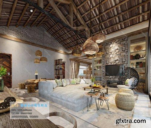 Modern Style Livingroom 350 (2019)