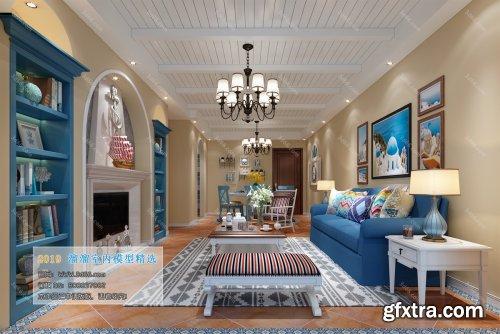 Modern Style Livingroom 351 (2019)