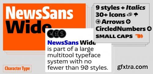 News Sans Wide