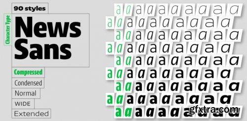 News Sans Compressed