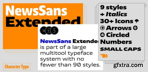 News Sans Extended