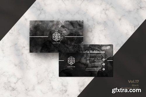 Black Business Card