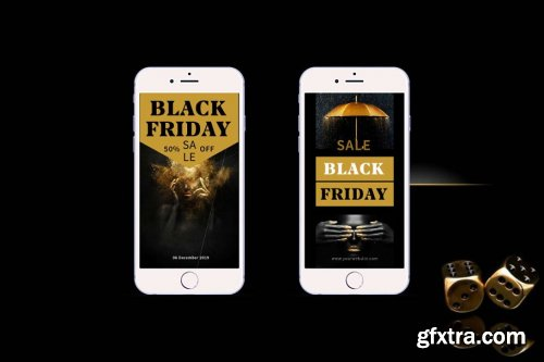 CreativeMarket - Black Friday - Instagram Stories 4244560