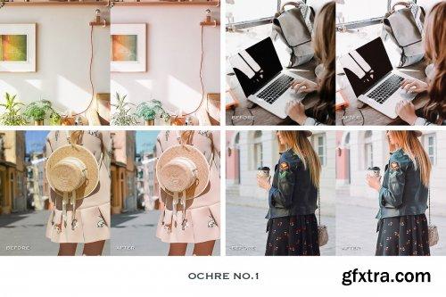 CreativeMarket - Ochre Lightroom Presets Mobile 4241898