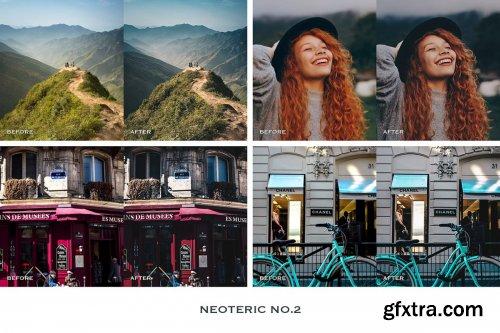 CreativeMarket - Neoteric Lightroom Presets Mobile 4241900