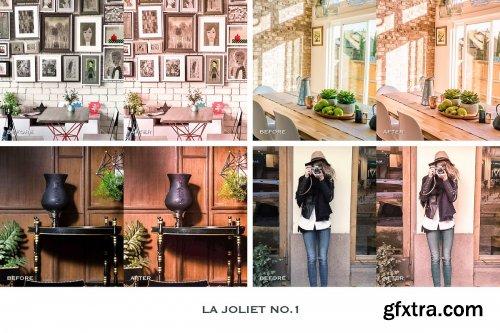 CreativeMarket - La Joliet Lightroom Presets Mobile 4241903