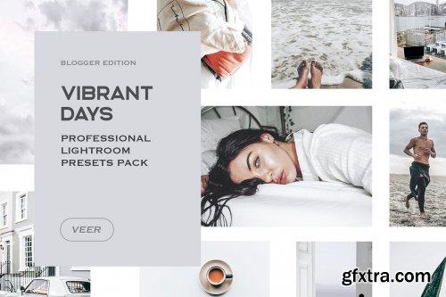 CreativeMarket - Vibrant Lightroom Presets Mobile 4241891