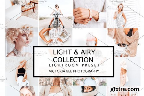 CreativeMarket - 10 LIGHT & AIRY LIGHTROOM PRESETS 4196271