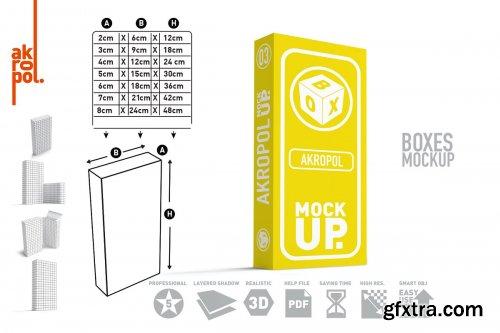 CreativeMarket - Box Mock Up-03 4276440