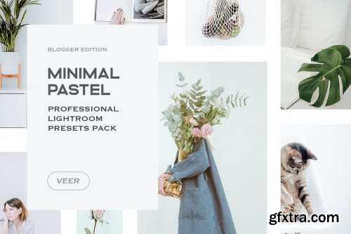CreativeMarket - Minimal Lightroom Presets Mobile 4241901