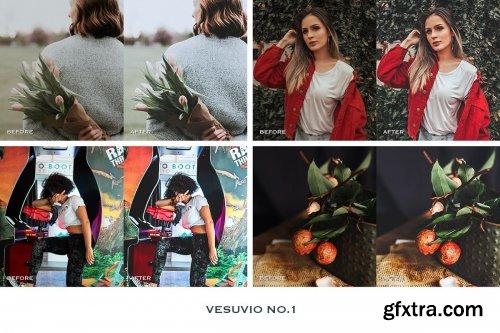 CreativeMarket - Vesuvio Lightroom Mobile Presets 4241892