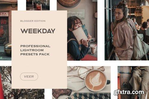 CreativeMarket - Weekday Lightroom Mobile Presets 4241889
