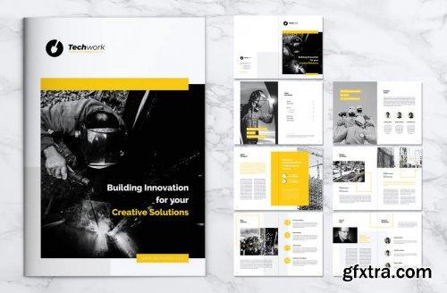 TECHWORK Construction Company Profile Brochure
