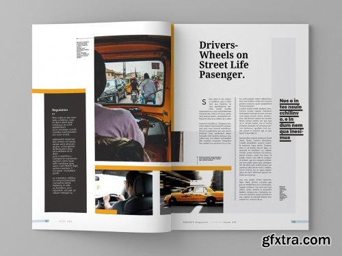 CreativeMarket - Project - Magazine Template 4309238