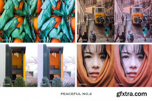 CreativeMarket - Peaceful Lightroom Presets Mobile 4241897