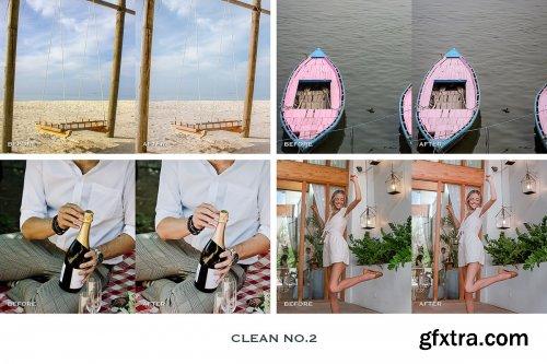 CreativeMarket - Clean Lightroom Presets Mobile 4241907