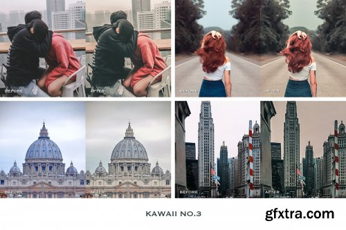 CreativeMarket - Kawaii Lightroom Presets Instagram 4241904