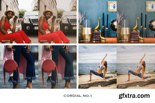 CreativeMarket - Cordial Lightroom Presets Mobile 4241906