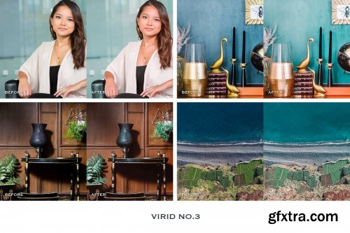 CreativeMarket - Virid Lightroom Presets Instagram 4241890