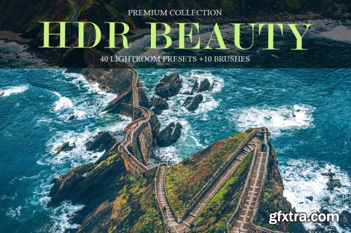 CreativeMarket - HDR Beauty Presets for Lightroom 4290201