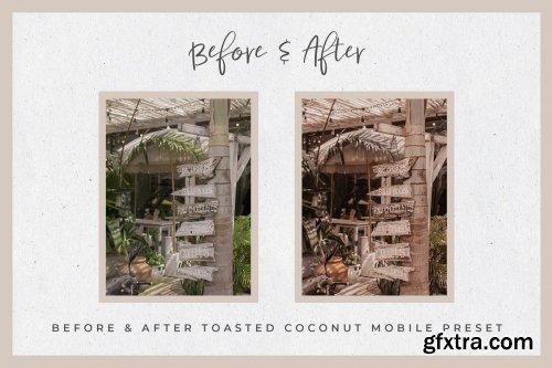 CreativeMarket - Toasty Lightroom Mobile Presets 3742030
