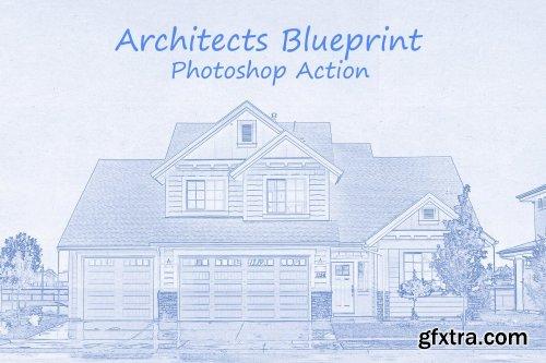 CreativeMarket - Architects Blueprint - PS Action 4113879