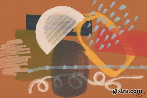 CreativeMarket - Abstract Art Generator- PSD Brushes 4281557