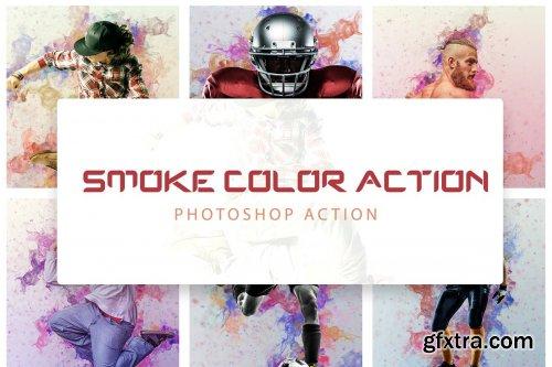 CreativeMarket - Smoke Color Action 4263734