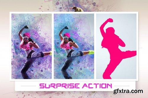 CreativeMarket - Surprise Action 4263921