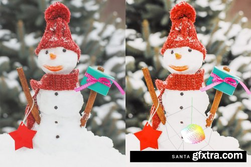 CreativeMarket - 50 Christmas Lightroom Presets LUTs 4315283