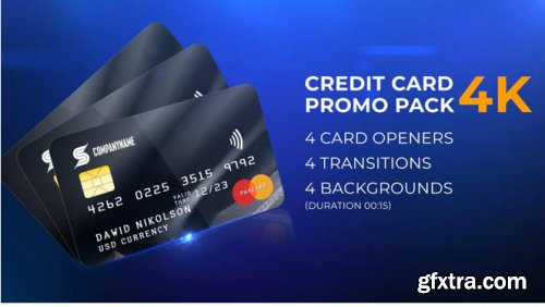 Credit Card Promo Pack - After Effects 311845