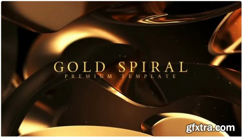Gold Spiral - After Effects 311331