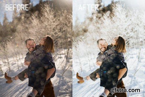 CreativeMarket - Winter Wonderland Lightroom Presets 4255296