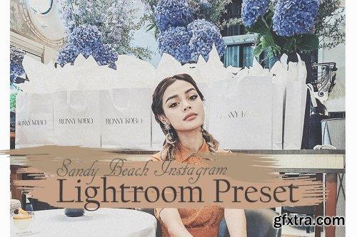 CreativeMarket - Sandy Beach Lightroom Preset 4230294