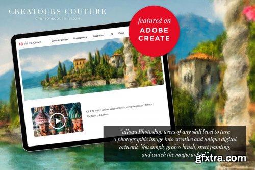CreativeMarket - Instapressionist Photoshop Brushes 4236104