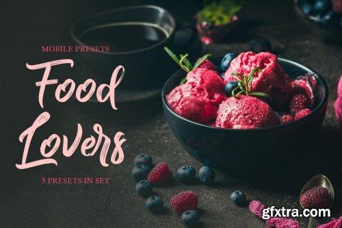 CreativeMarket - Food Lovers Mobile Presets 4235254