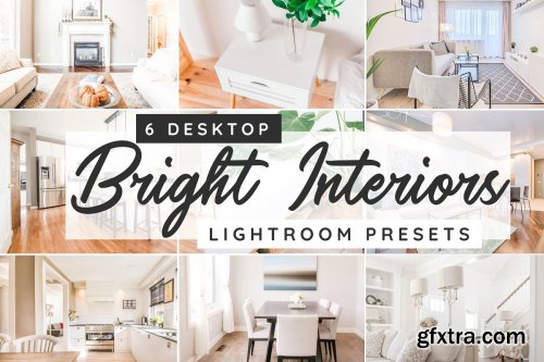 CreativeMarket - Bright interiors desktop presets 3750598