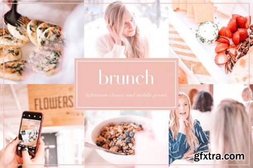 CreativeMarket - Brunch lightroom preset 3673443
