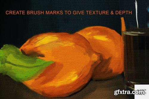 CreativeMarket - Procreate Oil Brush Set + Texture 3732089