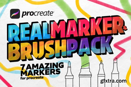 CreativeMarket - CopicArt markers set for Procreate 3332638