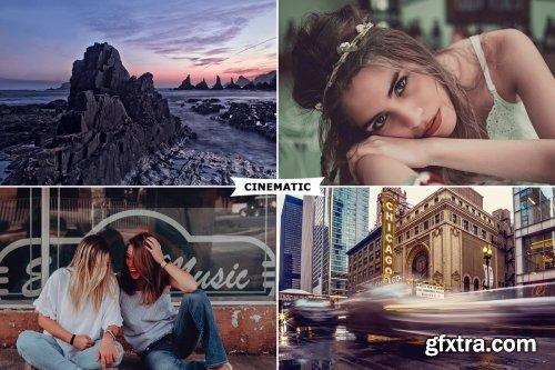 CreativeMarket - Cinematic Photoshop Actions 3333859