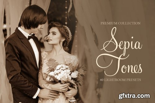 CreativeMarket - Sepia Tones Presets for Lightroom 4287055