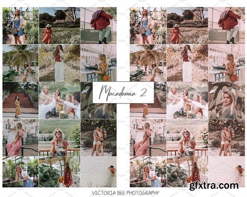 CreativeMarket - 10 MOBILE LIGHTROOM PRESET 4191129