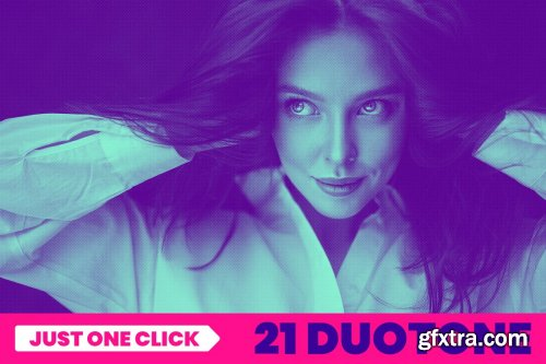CreativeMarket - 21 Duotone Effects 4224884