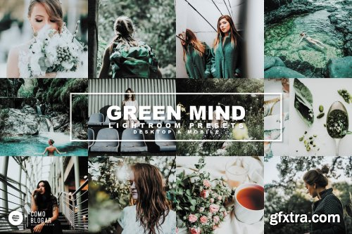 CreativeMarket - 54. Green Mind 4207240