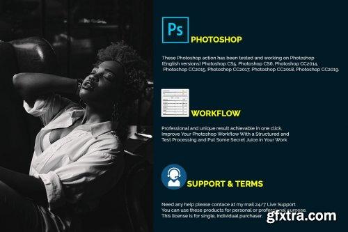 CreativeMarket - Darken Photoshop Actions 4308915